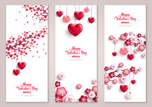 Valentines Vertical Banners, T...