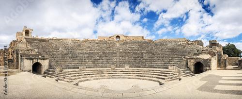 Photo Africa, Tunisia, Dugga. Ancient Roman theater.