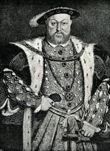Henry VIII Of England, Portrai...