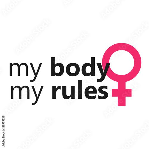 Fotografía My body my rules