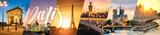 Fototapeta Fototapety z wieżą Eiffla - Paris carte postale