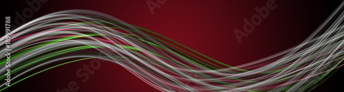 Foto op Aluminium Abstract wave Abstract elegant panorama background design with space for your text