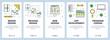 Vector modern thin line brand design concept web banners