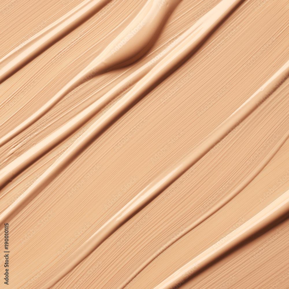 Fototapeta Texture of liquid foundation