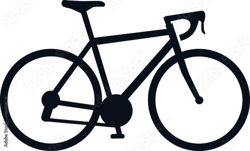 Racing bike icon