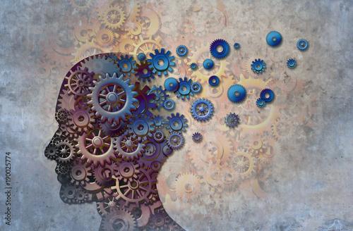 Obraz Alzheimer's - fototapety do salonu