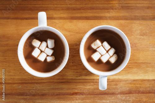 Foto op Plexiglas hot chocolate