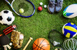 canvas print picture - Sports tools