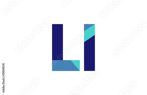 Photo LI Ribbon Letter Logo