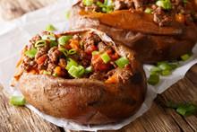 Organic Food: Baked Sweet Pota...