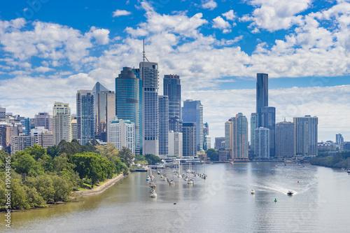 Brisbane CBD in daytime
