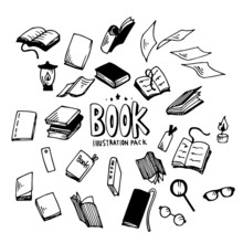 Book Illustration Pack