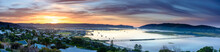 A Panorama Of Knysna Lagoon At Sunrise, South Africa