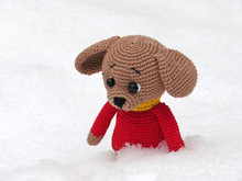 Lost In The Snow Toy. Knitted ...