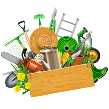 Vector Gardening Concept With ...