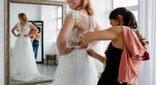 Designer Fitting Bridal Gown T...