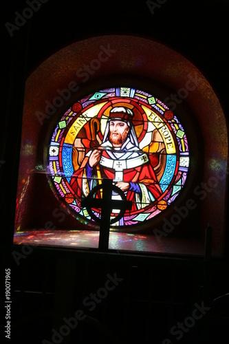 Photo Eglise du Graal Tréhorenteuc en Broceliande