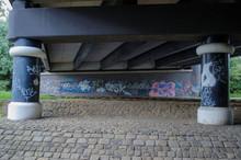 The Underside Of A Steel Road ...