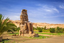 The Colossi Of Memnon, Two Mas...