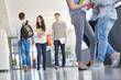 Schüler oder Studenten im College