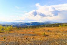 Taiga And Tundra In Alaska