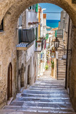 Fototapeta Fototapety na drzwi - Vieste, Gargano Peninsula, Apulia region, Italy