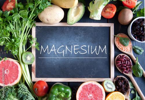 Deurstickers Keuken Magnesium diet