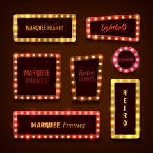 Vintage 3d Light Marquee Vegas...