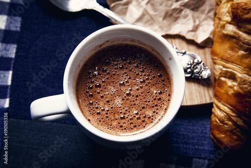 Foto op Plexiglas Chocolade А cup of hot chocolate