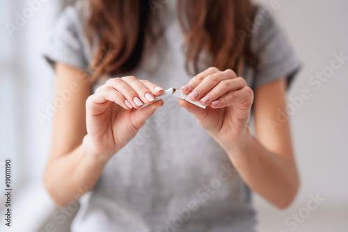 Fotografiet Stop smoking cigarettes concept