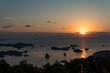 石岳展望台からの夕焼け