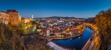 Historic Town Of Cesky Krumlov...