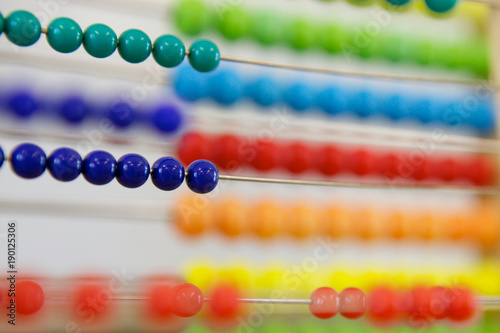 Photo Colorful Abacus
