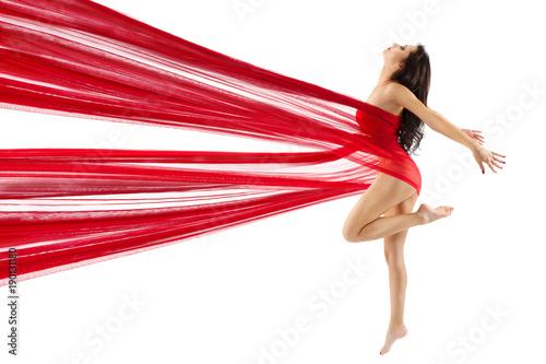 kobieta-taniec-czerwone-tkaniny-sexy-model-taniec-nowoczesny-sport-gimnastyka-mloda-dziewczyna-na-bialym-tle-bialy-koncepcja-piekna-ciala