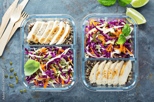 Healthy Meal Prep Containers With Quinoa And Chicken Buy This