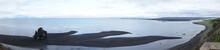 Küsten-Landschaft Vatnsnes - Halbinsel / Basaltfelsen Hvítserkur, Nord-Island