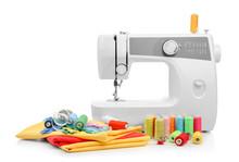 Modern Sewing Machine With Thr...