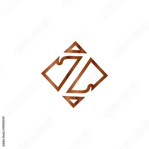 Abstract letter z outline with wooden color vector buy this stock abstract letter z outline with wooden color vector spiritdancerdesigns Image collections