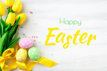 Happy Easter. Congratulatory E...