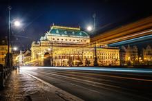 National Theatre. Prague. Czech Republic.