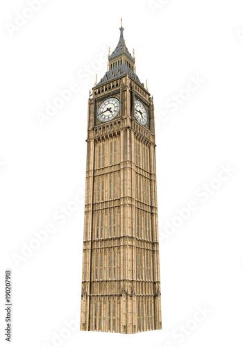 Photo Big Ben Isolated