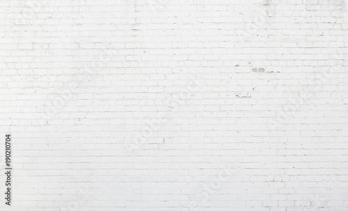Large Whitewash Brick Wall Texture