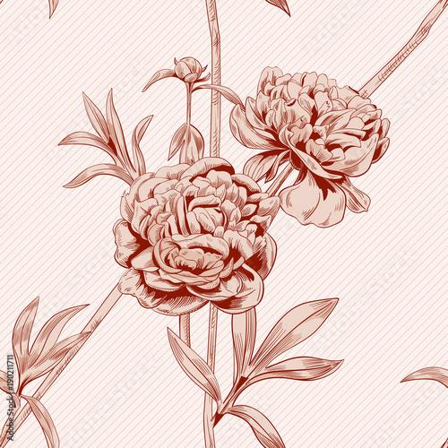 Digital download SEPIA FLOWER