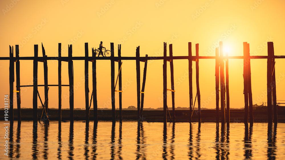 Fototapety, obrazy: U bein bridge