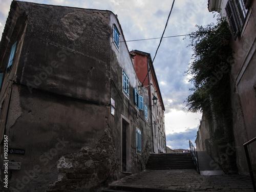 Fotografie, Obraz  centro città, case, urbano
