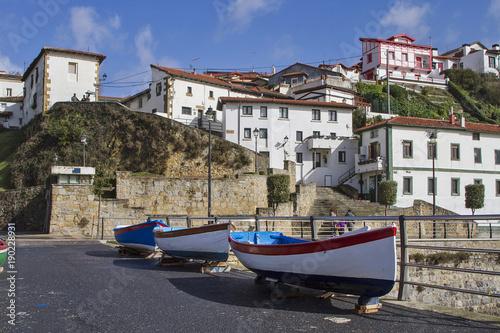 Plakat Stary port Getxo