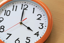 Focus Time In Clock Of Four O'...