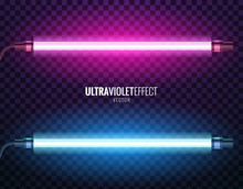 Vector Of Ultraviolet Light.