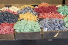 Various Colorful Sugar Candy O...