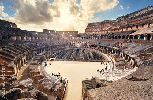 Canvas Print Colosseum in Rome